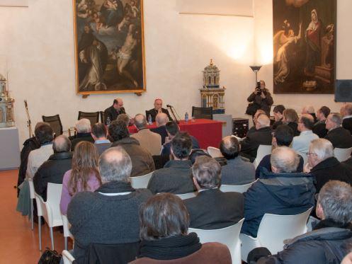 Un incontro pubblico presso la Sala Conferenze del Museo Diocesano di Reggio Emilia, luogo scelto per l'incontro-convegno di venerdì 24 gennaio 2014, festa di san Francesco di Sales.
