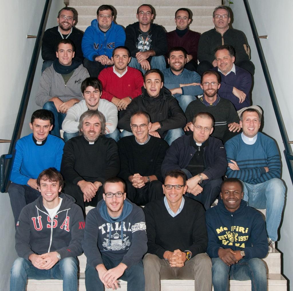 Una foto recente dei nostri seminaristi diocesani.