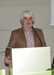 Il professor Valerio Massimo Manfredi