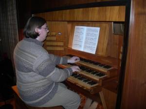 Vittorio Prandini, organista