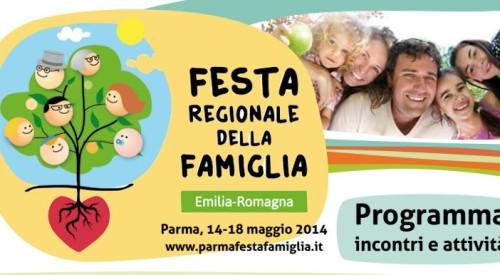 Festa regionale della famiglia a Parma dal 14 al 18 maggio