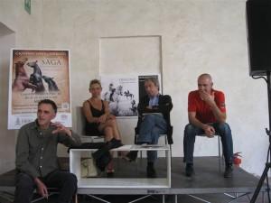 conferenza stampa di Saga 003 Ferretti, Pellegri, Gasparini, Ugoletti