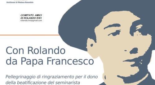 CON ROLANDO DA PAPA FRANCESCO