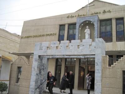 La chiesa cattolica caldea di San Giuseppe a Baghdag