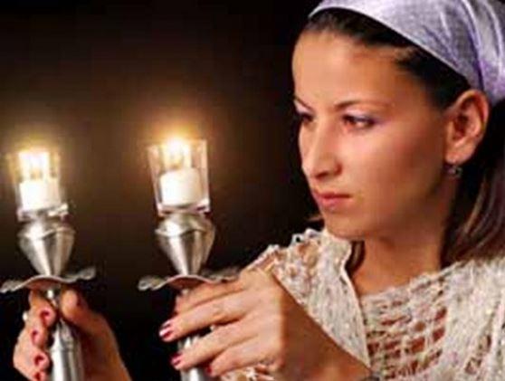 Una donna ebrea.