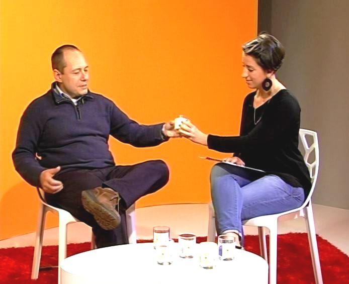 Giulia Lirani e Isacco Rinaldi (Telesettimanale La Libertà)