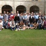 Un gruppo del'Istituto Santa Famiglia in ritiro a roverè