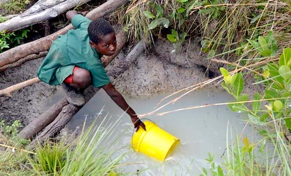 pozzo acqua africa