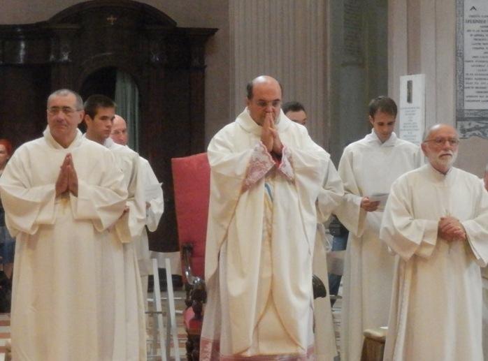 Un altro momento della celebrazione dell'Assunzione della B.V. Maria il 15 agosto a Reggio Emilia