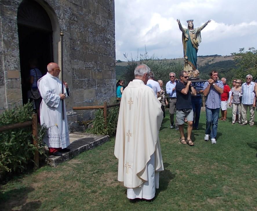 Sagra 2015 di Pianzo di Casina - Celebrazione eucaristica