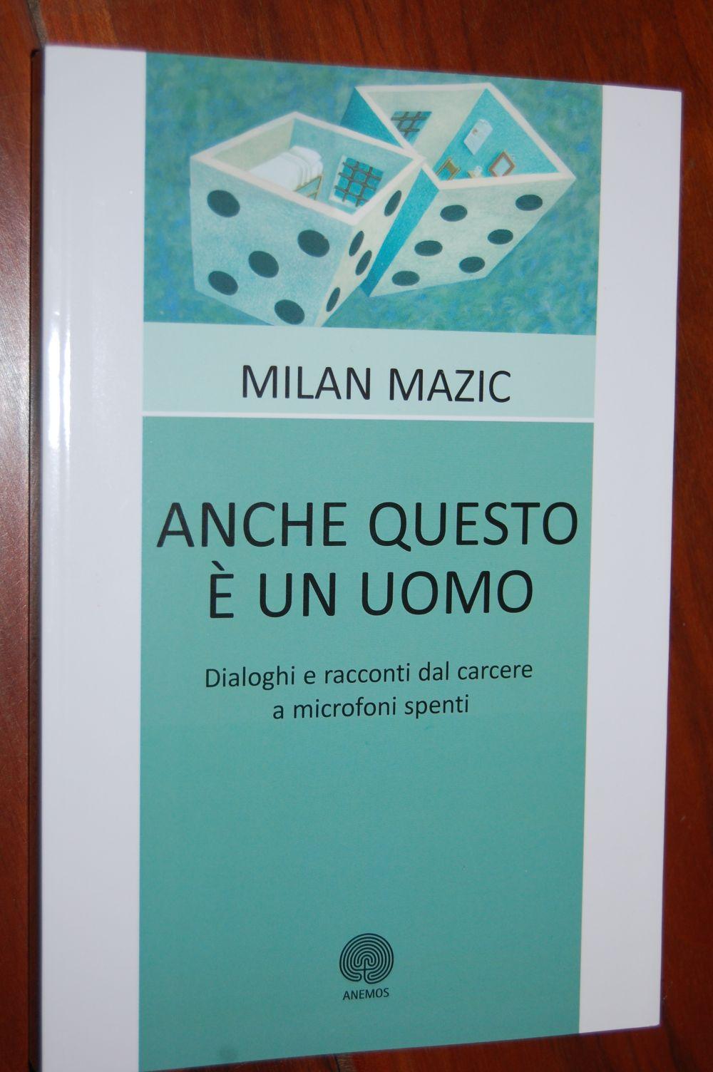 Carcere - libro Milan Mazic - copertina