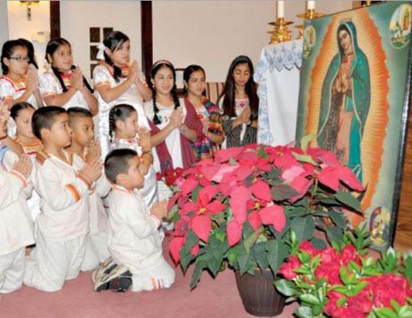 bambini-devozione-Madonna-Guadalupe