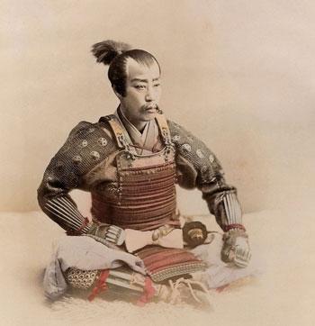 Ogawa-Kazumasa,-Samurai,-1890-circa