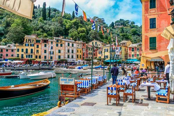 Portofino-Cafes-Italy