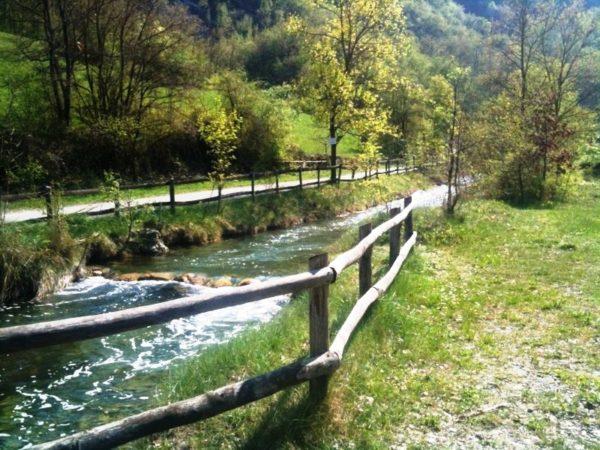 Lungo il cammino Gatta - Pianello