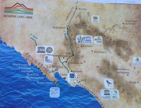 mappa Distretto Turistico