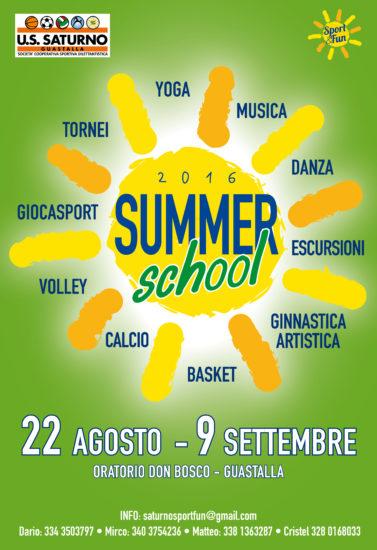 Locandina SummerSchool_2016_WEB