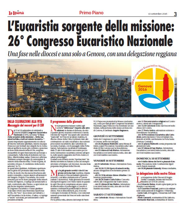 congresso eucaristico