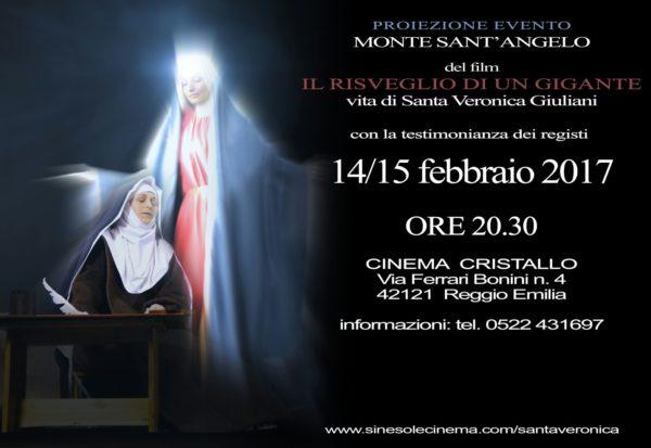 locandina FILM su santa Veronica Giuliani