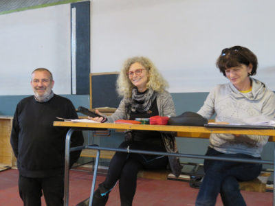Il vice presidente Alessandro Munarini e la professoressa Fulvia Boschi