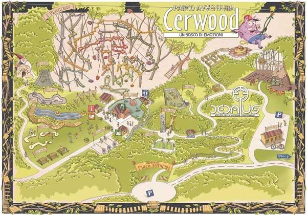 Cerwood-mappa