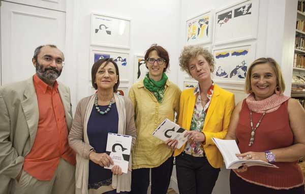 La-presentazione-del-Pinguino-senza-frac-all'Istituto-Italiano-di-Cultura-di-Barcellona