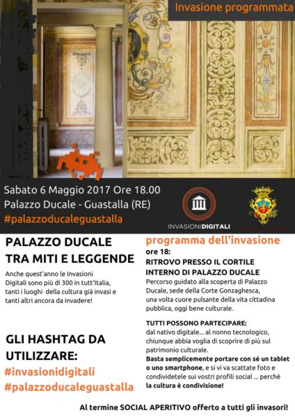 Invasioni Digitali Guastalla, Palazzo Ducale tra miiti e leggende
