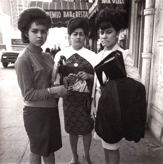 1963-ArbusThree Puerto Rico Women, N.Y