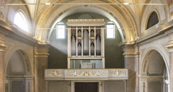 Tre antichi organi in restauro