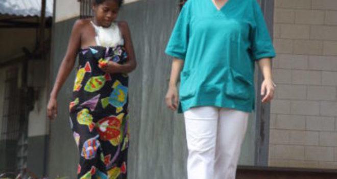 Chiara, infermiera: quante grazie ad Ampasimanjeva