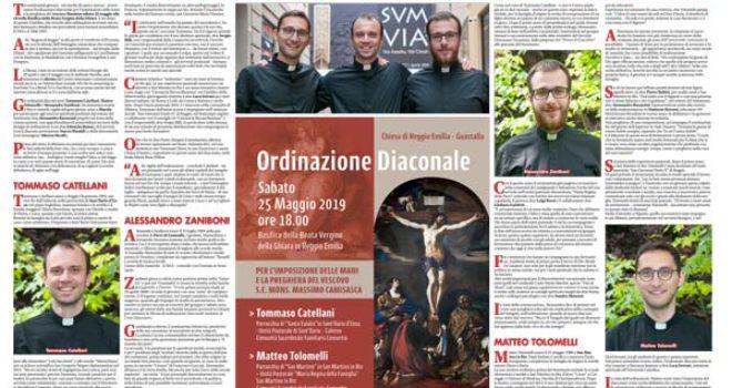 Futuri diaconi: Alessandro Zaniboni