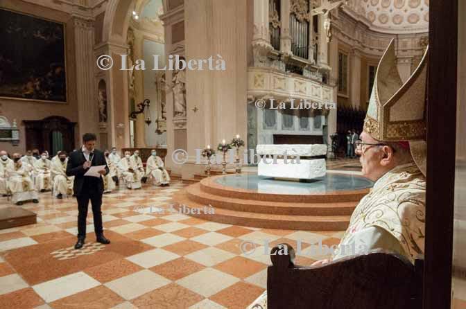 2021-02-22 Messa in memoria di monsignor Luigi Giussani